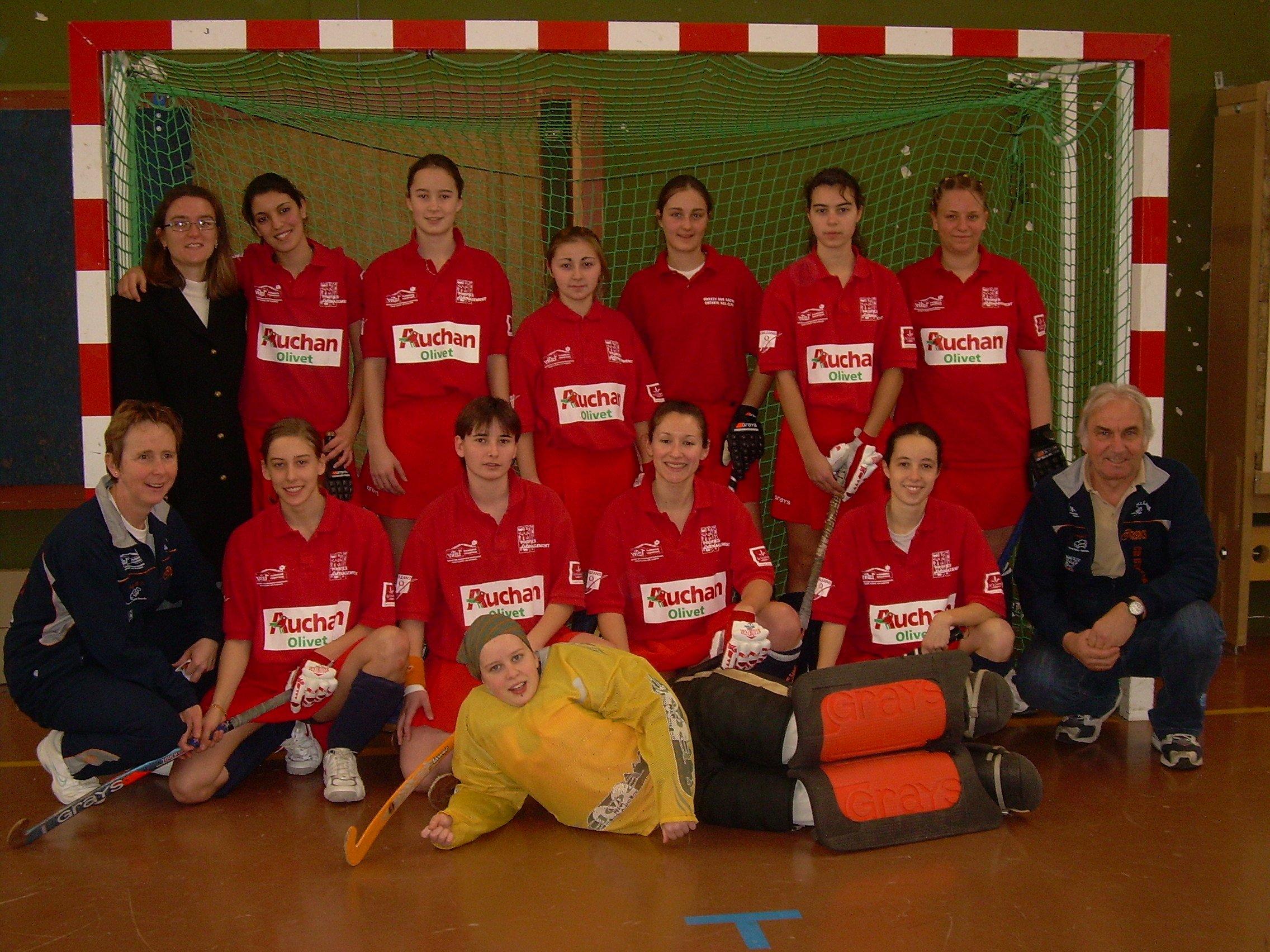 Equipe Salle Femmes - Saison 2008